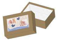 Pudełko kartonowe, Kochanej Babci, 16x11 cm