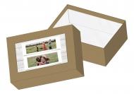 Pudełko kartonowe, Najświeższe Wspomnienia, 15x11 cm