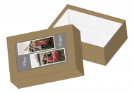 Pudełko kartonowe, Nasza rodzina , 11x15 cm
