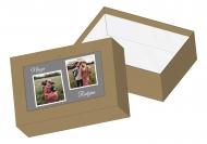Pudełko kartonowe, Nasza rodzina , 15,5x10,5 cm
