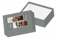 Pudełko kartonowe, Nasza rodzina , 11x16 cm