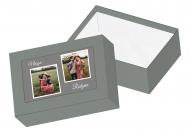 Pudełko kartonowe, Nasza rodzina , 16x11 cm