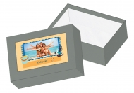 Pudełko kartonowe, Wakacje, 16x11 cm