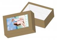 Pudełko kartonowe, Wspomnienia z wakacji, 11x15 cm