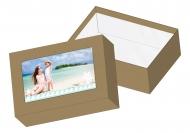 Pudełko kartonowe, Wspomnienia z wakacji, 16x11 cm