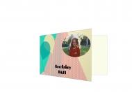 Zaproszenia Przyjęcie dziecka, 15x10 cm