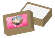 Pudełko kartonowe, Miłość, 16x11 cm