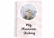 Notes planer Mój planner ślubny, 15x21 cm