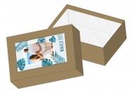 Pudełko kartonowe, Tropikalna przygoda, 11x16 cm