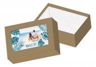 Pudełko kartonowe, Tropikalna przygoda, 16x11 cm