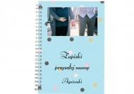 Notes planer Zapiski przyszłej mamy, 15x21 cm