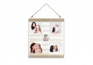 Obraz na sznurku, Love, 30x30 cm