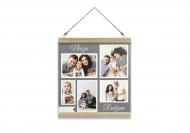 Obraz na sznurku, Nasza Rodzina, 30x30 cm