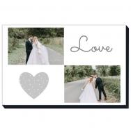 Obraz, Love wedding, 30x20 cm