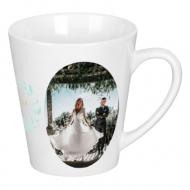 Kubek latte, Ślubny portret