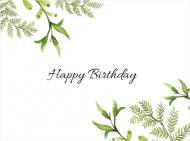 Fotokartki Happy Birthday , 20x15 cm