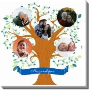 Obraz, Drzewo rodzinne, 30x30 cm