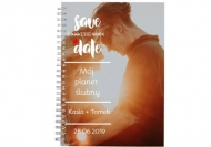 Notes planer Planer Save the date, 15x21 cm