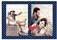 Puzzle magnetyczne, Ona i On, 4 elementów