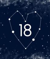 Fotokartki Kosmiczna osiemnastka, 15X20 cm