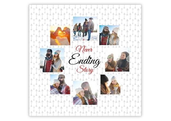 Plakat Never Ending Story 30x30 Cm Empikfotopl