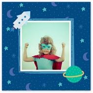 Plakat, Słodkie chwile przedszkolaka, 30x30 cm
