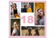 Fotokartki To już 18 urodziny!, 14x14 cm