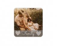 Brelok Family, 6x6 cm