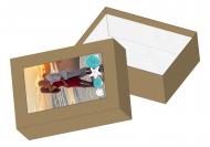 Pudełko kartonowe, Wakacyjna Pamiątka, 11x15 cm