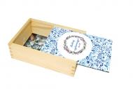 Pudełko, Dedykacja dla nauczyciela, 12x17 cm