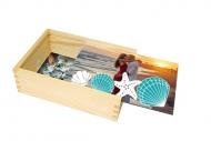 Pudełko, Wakacyjna Pamiątka, 17x12 cm