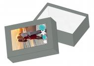 Pudełko kartonowe, Wakacyjna Pamiątka, 11x16 cm