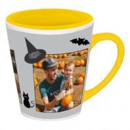 Kubek latte, Halloween