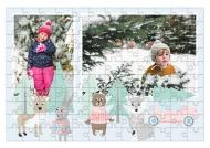 Puzzle, Zimowy las, 120 elementów