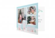 Fotokartki Pastelowe Święta, 14x14 cm