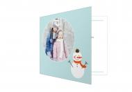 Fotokartki Świąteczne chwile, 14x14 cm