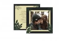 Fotokartki Świąteczne wspomnienia, 14x14 cm