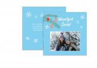 Fotokartki Świąteczne życzenia, 14x14 cm