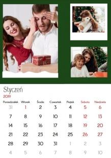 Kalendarz, Insta Wesołych Świąt, 30x40 cm