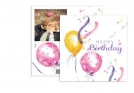 Fotokartki Urodzinowa, 14x14 cm