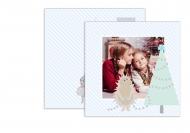 Fotokartki Pocztówka Pastelowe Święta, 14x14 cm