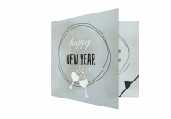 Fotokartki Happy New Year, 14x14 cm