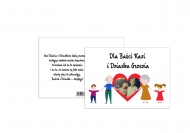 Fotokartki Serduszko dla Dziadków, 20x15 cm