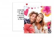 Fotokartki Dla zakochanych, 14x14 cm