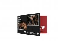 Fotokartki Be mine Valentine, 15x10 cm