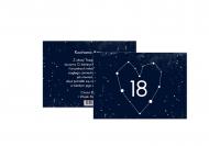 Fotokartki Kosmiczna osiemnastka, 20x15 cm