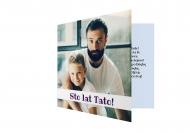 Fotokartki Sto lat Tato, 14x14 cm