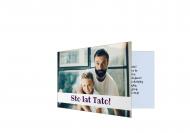 Fotokartki Sto lat Tato, 15x10 cm