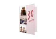 Fotokartki Na 30ste urodziny, 10x15  cm
