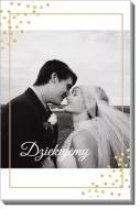 Obraz, Podziękowania ślubne, 20x30 cm